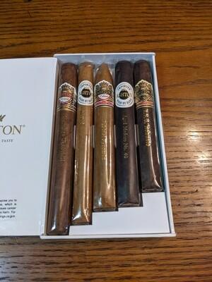 Ashton 5 Cigar Sampler