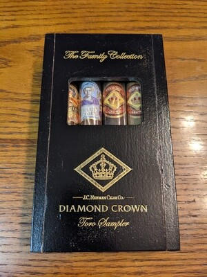 Diamond Crown Family Toro 4 Cigar Sampler