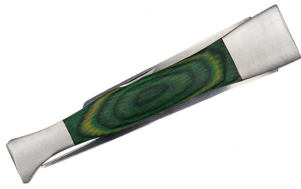 Brigham Pipe Tool Green Wood Inlay