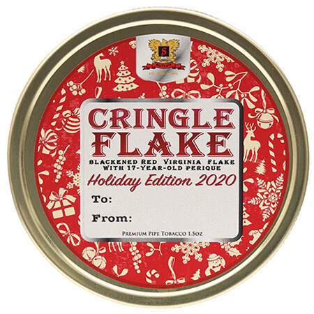Suliff Cringle Flake Pipe Tobacco 1.5 oz Tin