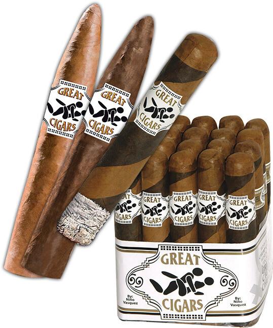 Great Cigars Premium Dual Wrap Torpedo 6.5 x 52 Single Cigar