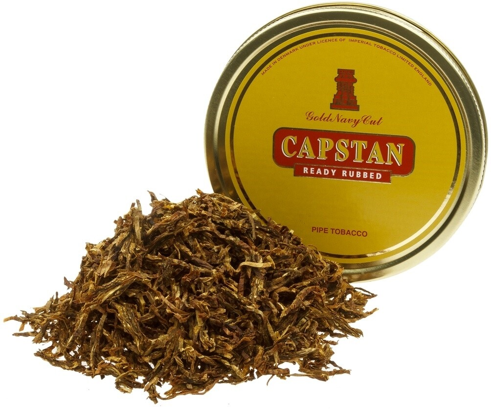 Sutliff Capstan Gold Ready Rubbed 1.75 Oz Tin Pipe Tobacco