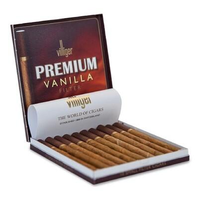 Villiger Premium #10 Vanilla Filter 10 Pack