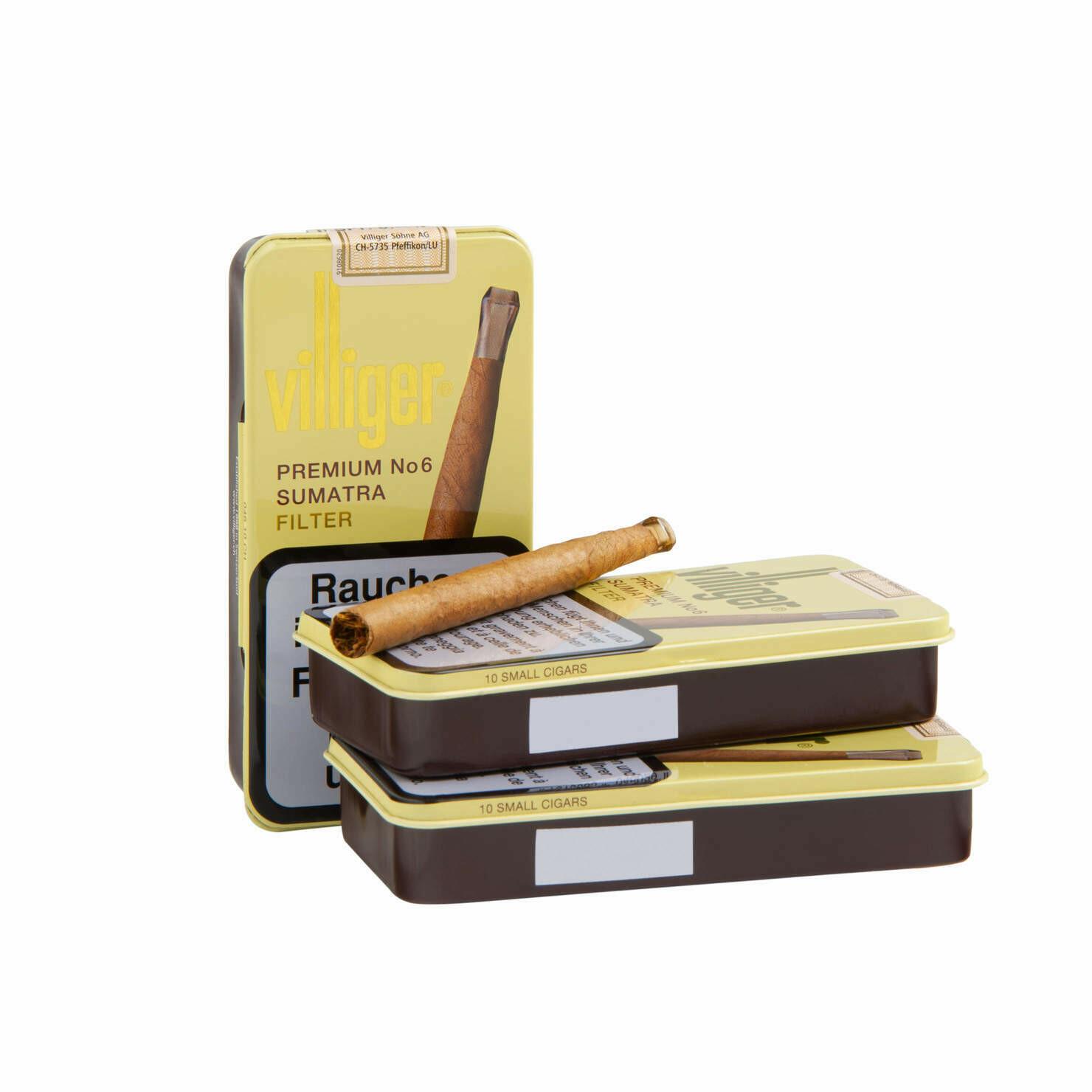 Villiger Premium No. 6 Sumatra 10 Pack