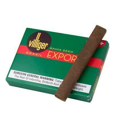 Villiger Export Brasil Single 50 Count Box