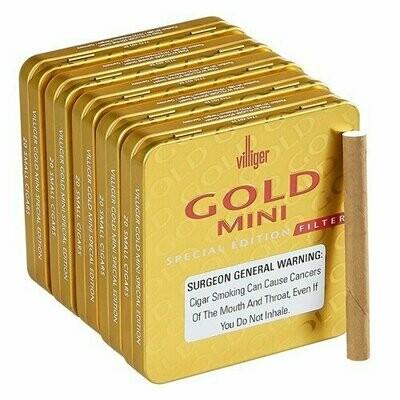 Villiger Gold Filtered 20 Pack
