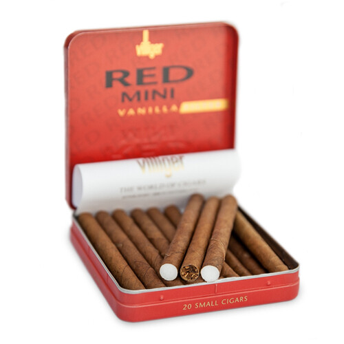 Villiger Red Vanilla Mini Filtered 20 Pack