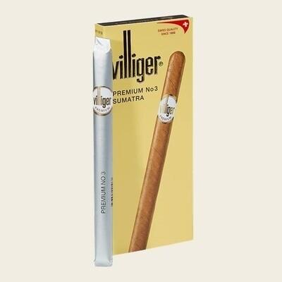 Villiger Premium No. 3 Sumatra 5 pack