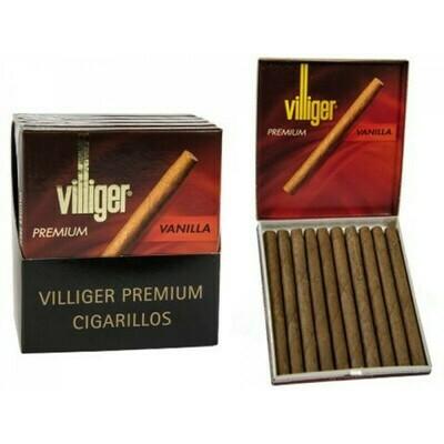 Villiger Premium #10 Vanilla No Filter 10 Pack