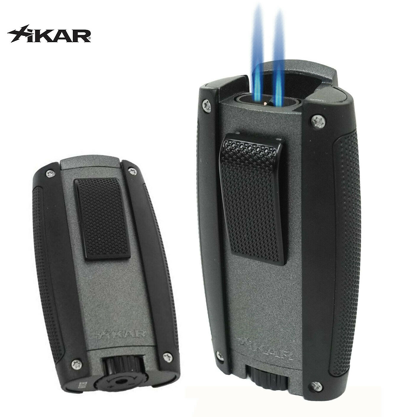 Xikar Turismo Lighter Matte Grey