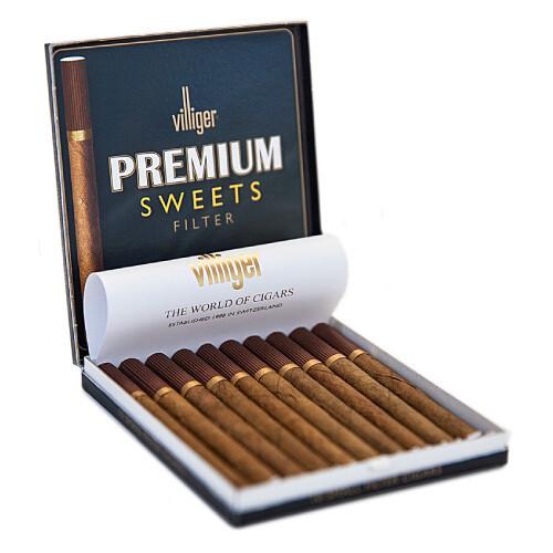 Villiger Premium Sweets Filter 10 pack