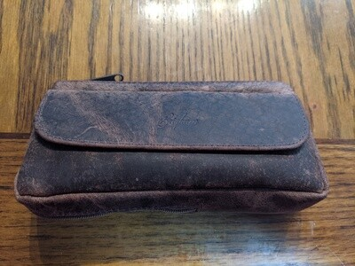 Brigham 1 Pipe Tobacco Case Vintage