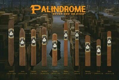 Indian Head Palindrome Deified 63 x 7 3/4 Single Cigar