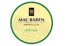 Sutliff Mac Baren Vanilla Roll Cake Pipe Tobacco 3.5 oz Tin