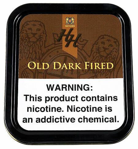 Sutliff Mac Baren HH Old Dark Fired Pipe Tobacco 1.75 Oz Can