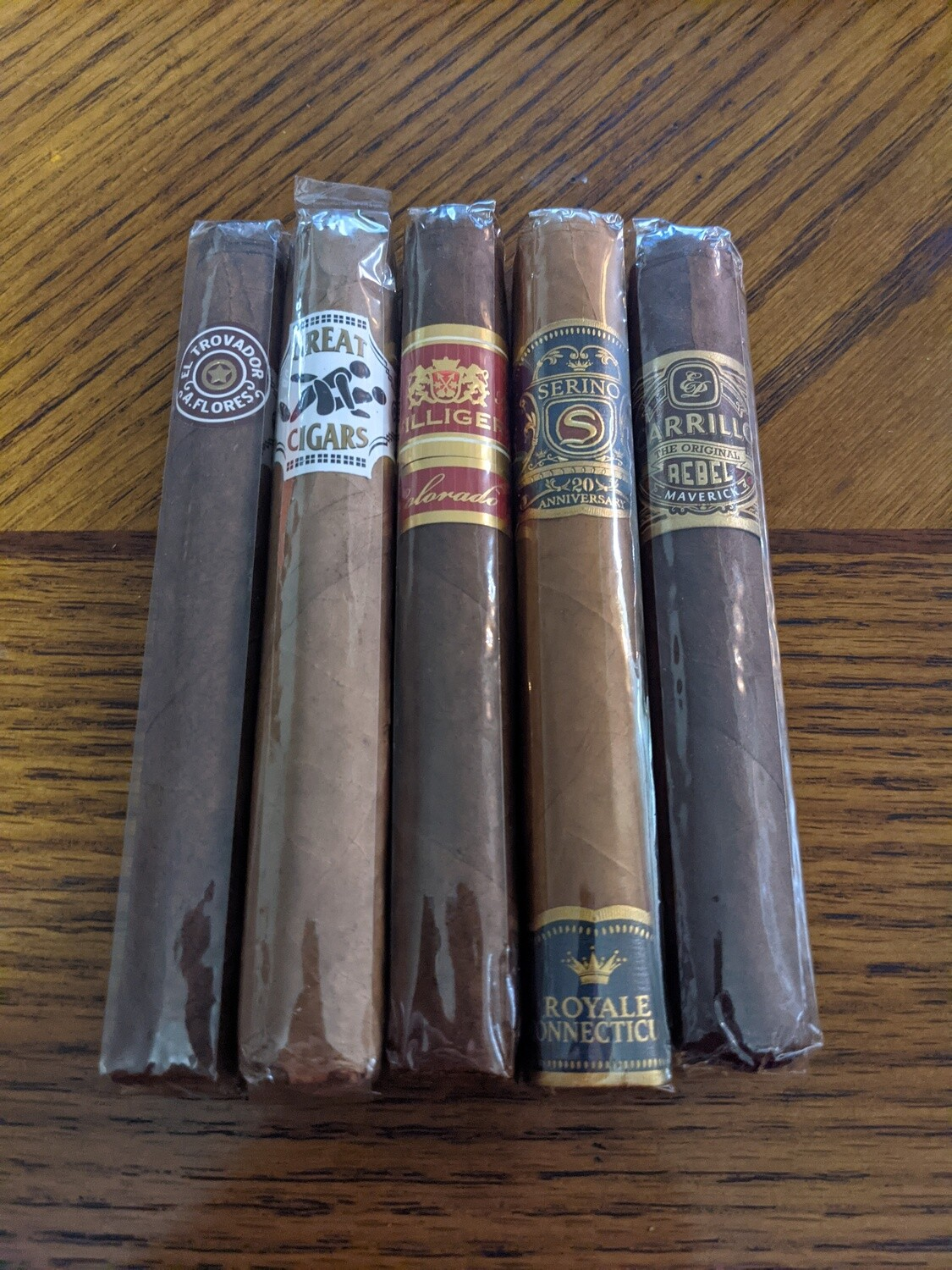 They're Great Cigars 5 Pack Sampler