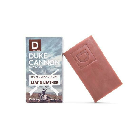 Duke Cannon Leaf & Leather Soap