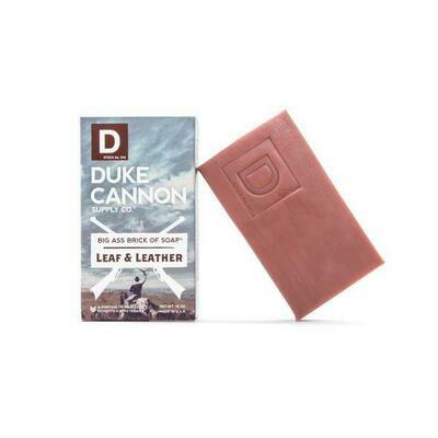 Duke Cannon Leaf & Leather Soap