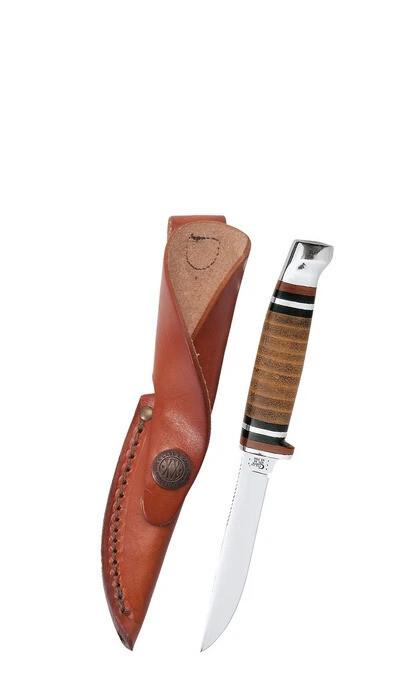 Case Leather Hunter W/sheath (M3FINN SS) No 00379