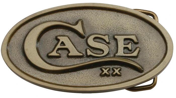 Case Buckle Oval Brass No 00934