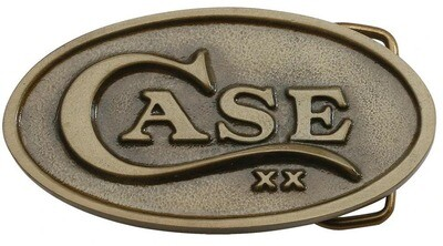 Case Buckle Oval Brass No 00934