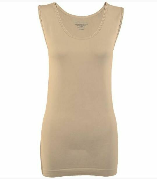 MS Beige Smooth Wear tank