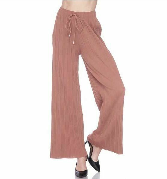 MS Mauve pilazzo pants