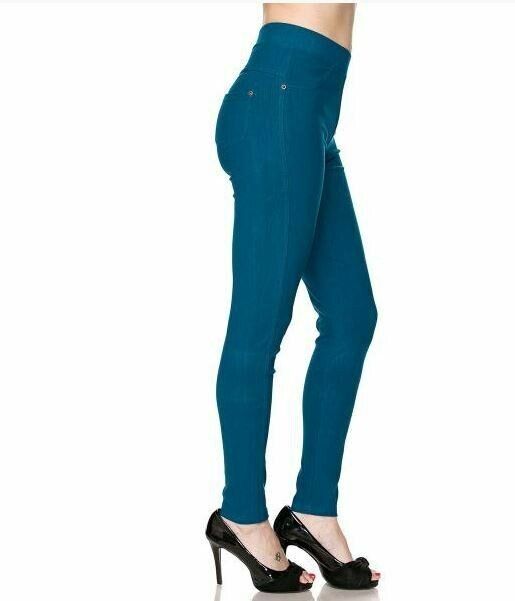 MS teal leggings