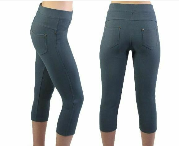 MS Charcoal Capri Leggings