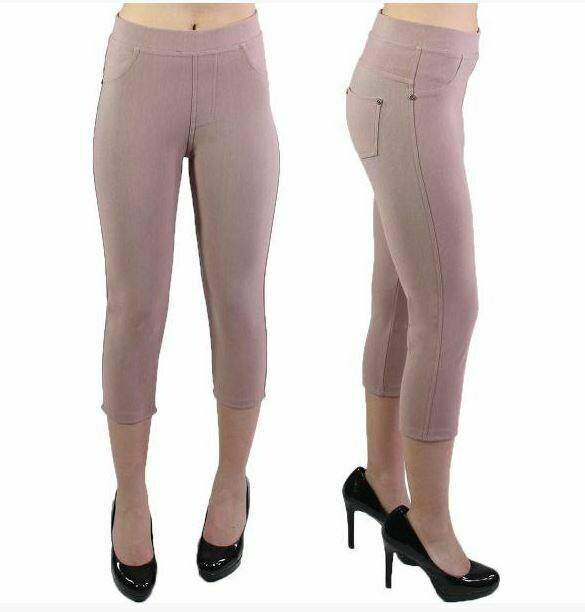 MS Mauve Capri leggings