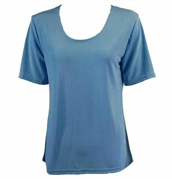 MS Light blue top one size