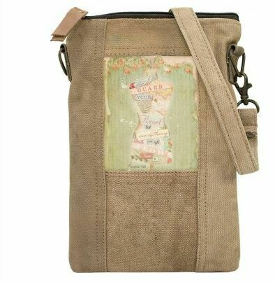 """Guard your heart'  Army Tent Cross body"
