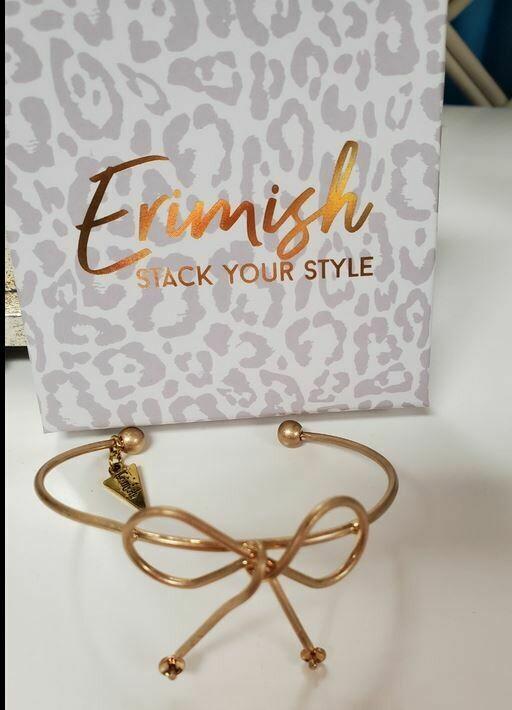 Erimish bow bracelets