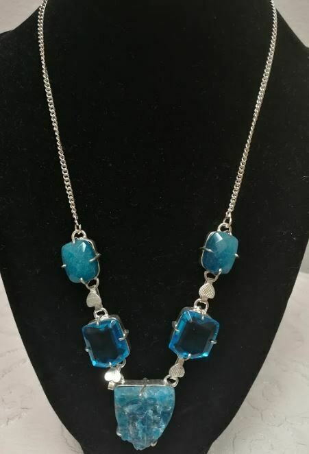 Blue Green quartz/ Aqua blue stone