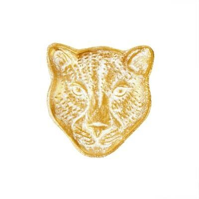 Leopard Trinket Dish
