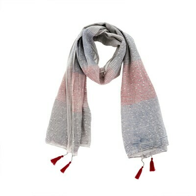 Celine Grey-Blue Scarf