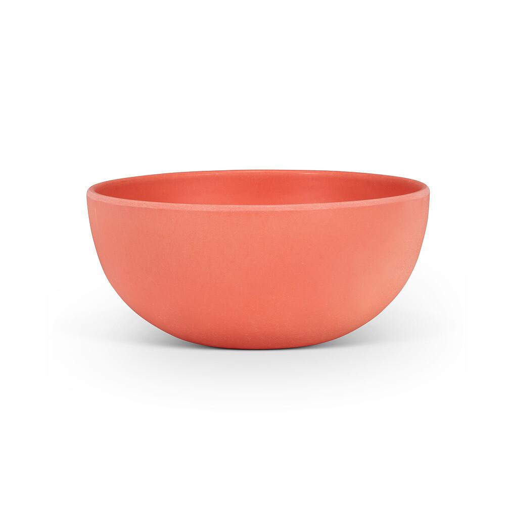 Small Coral Bamboo Bowl