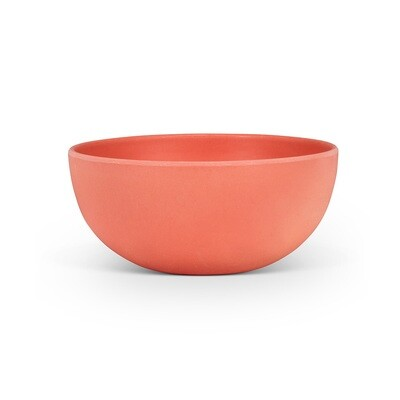 Small Coral Bamboo Bowl