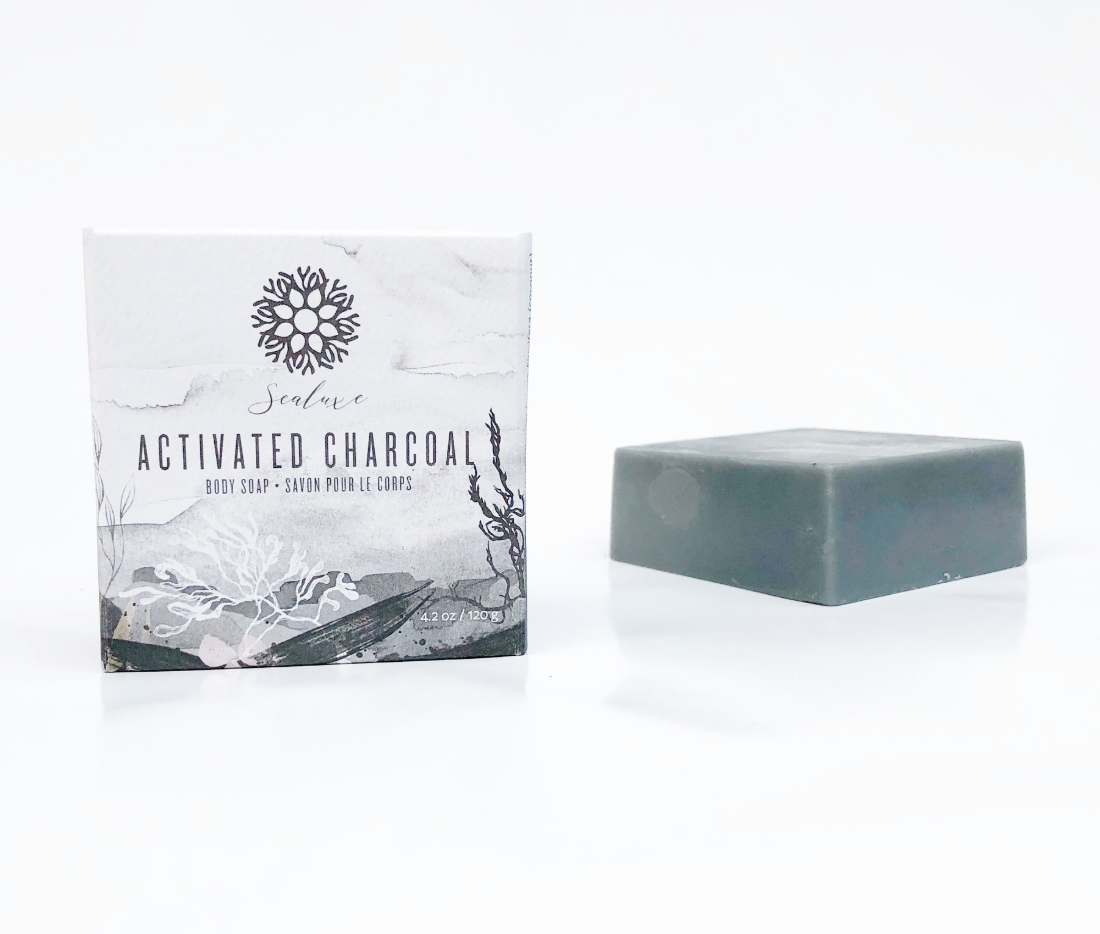 Sealuxe ~ Activated Charcoal - Soap