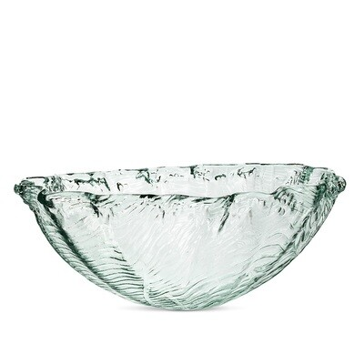 Recycled Glass Clam Bowl