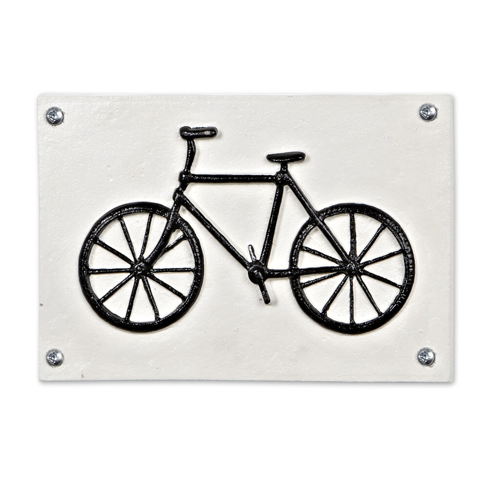 Bike Plaque