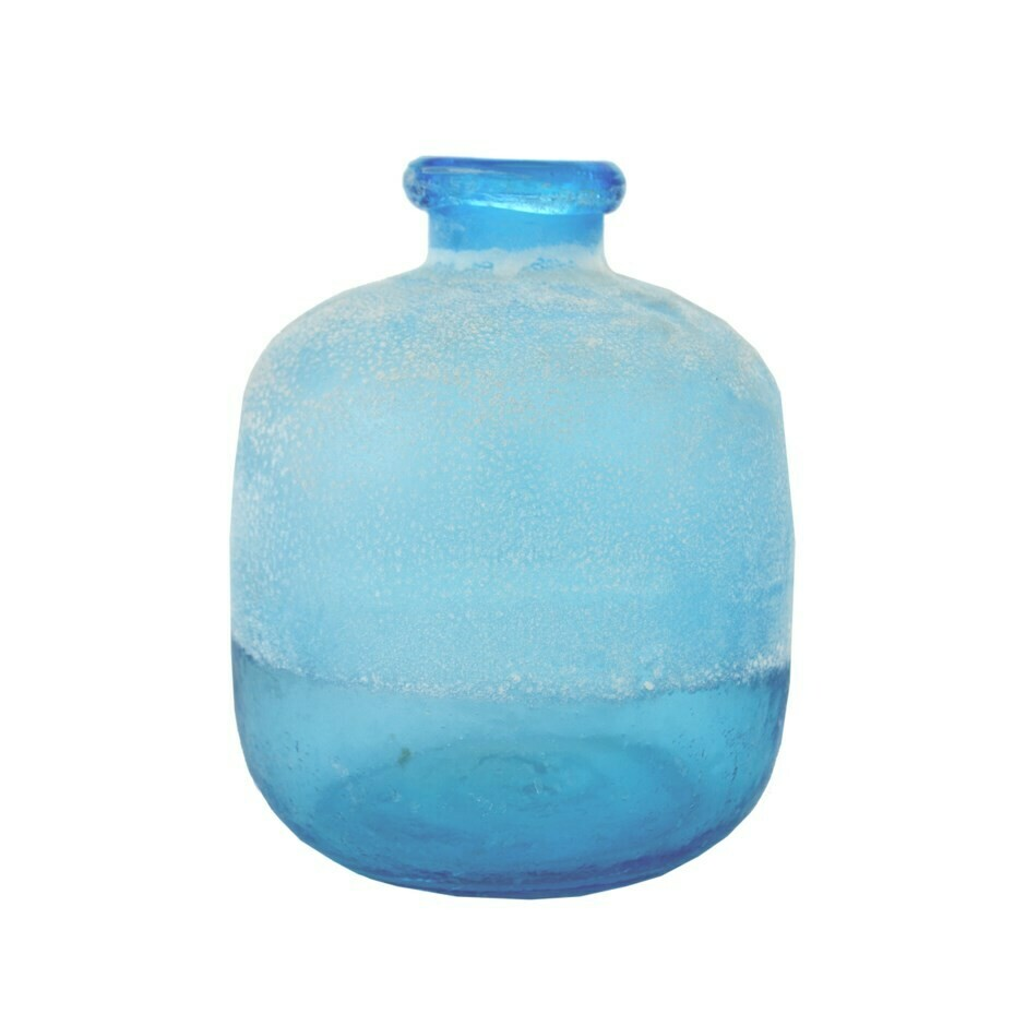 Beach glass vase