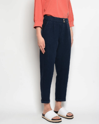 PAN ~ Navy Linen Pants