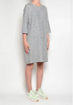 PAN ~ Navy Stripe Dress