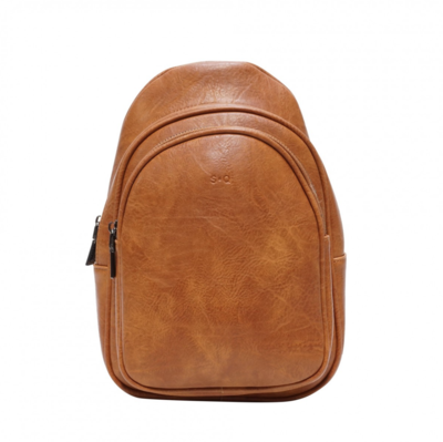 SQ ~ Leslie Sling Bag - Camel