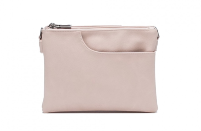 SQ ~ Elisa Crossbody Bag - Powder Pink
