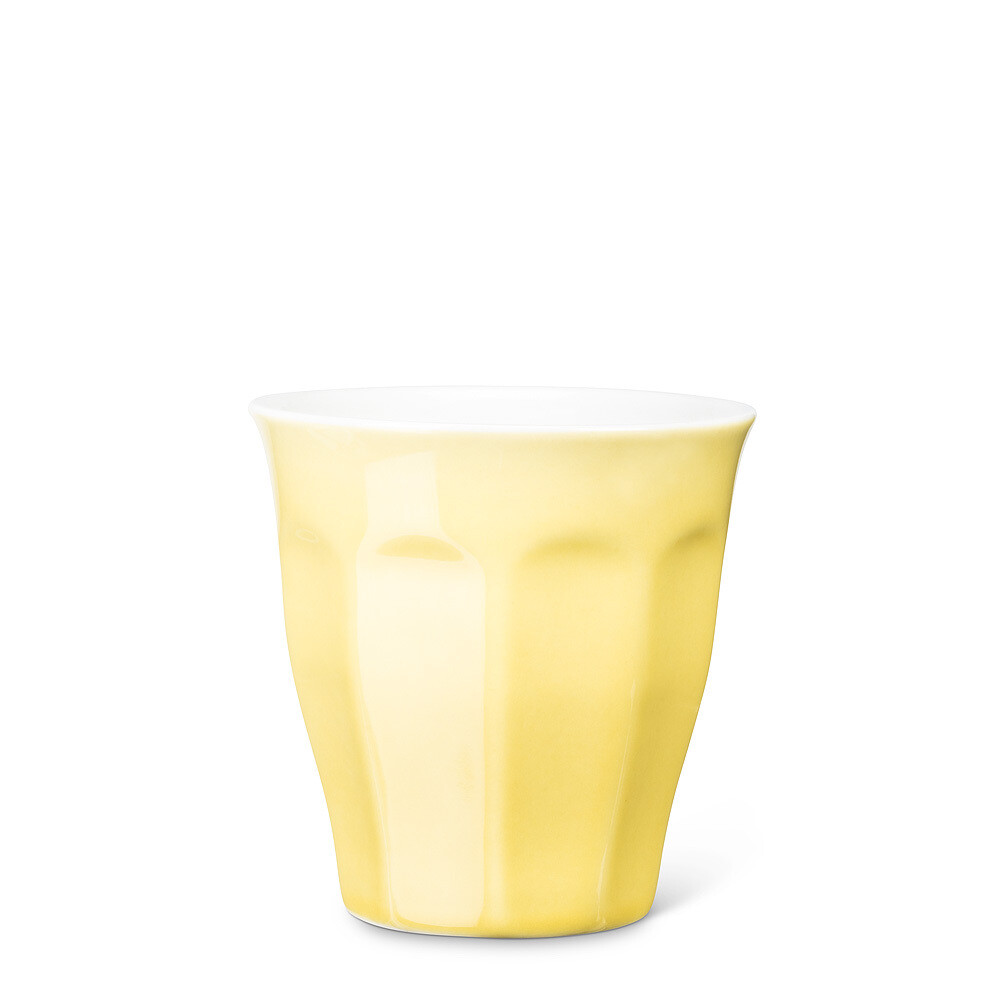 Yellow Panelled Cappuccino Tumbler