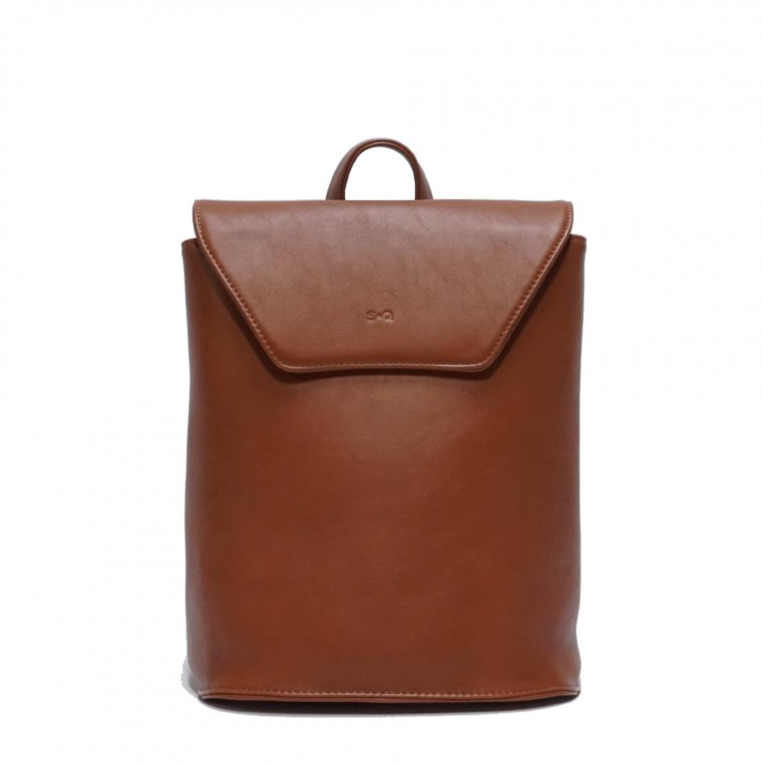 hallie backpack - camel