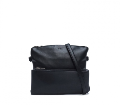 SQ ~ Kale Crossbody Purse - Black