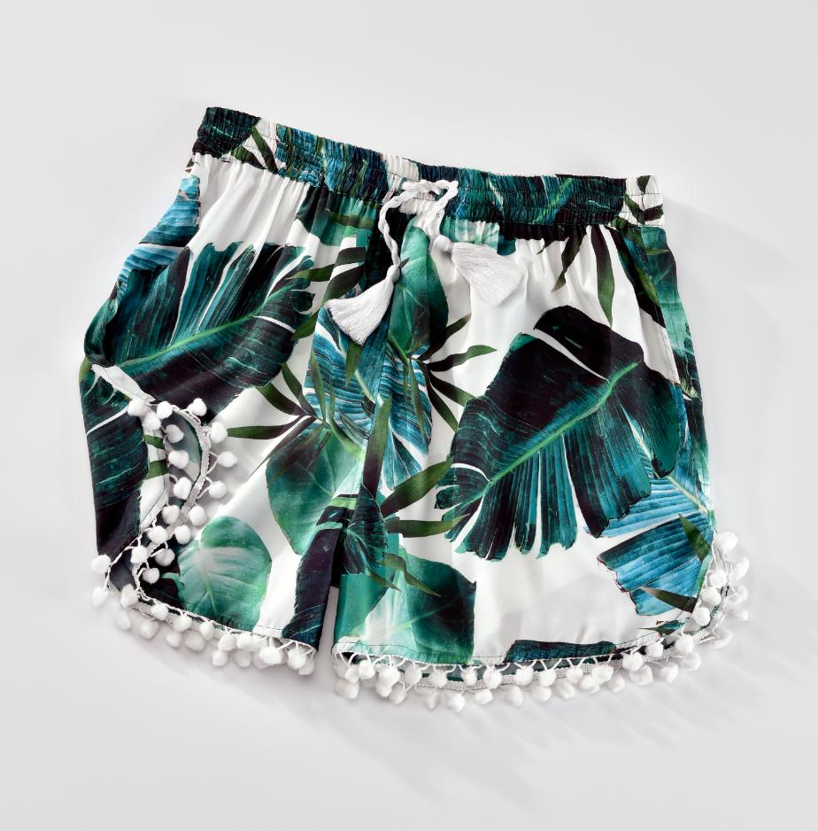Palm Leaf Shorts
